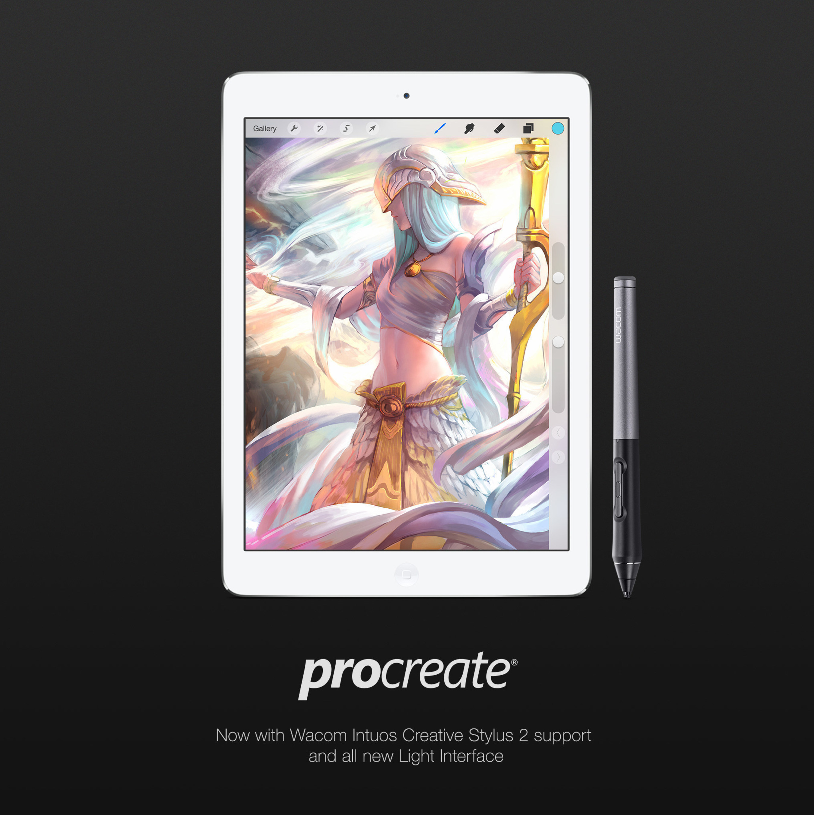 Good news for iPad artists: Procreate 2 3 now supports the