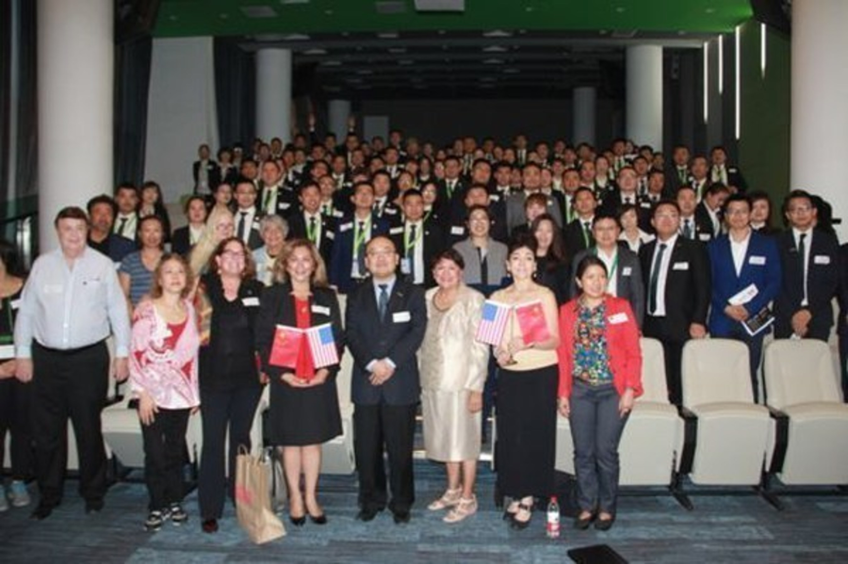 West meets East in Beijing for real estate conference.
