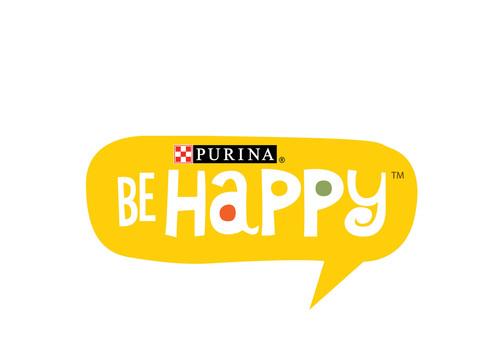 Be Happy(TM) Logo.  (PRNewsFoto/Nestle Purina PetCare Company)