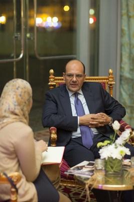 Ahmed Ismail, CEO of NBAD Egypt (PRNewsFoto/National Bank of Abu Dhabi- NBAD) (PRNewsFoto/National Bank of Abu Dhabi- NBAD)