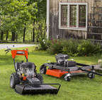 DR Power Equipment offers tow-behind and walk-behind models