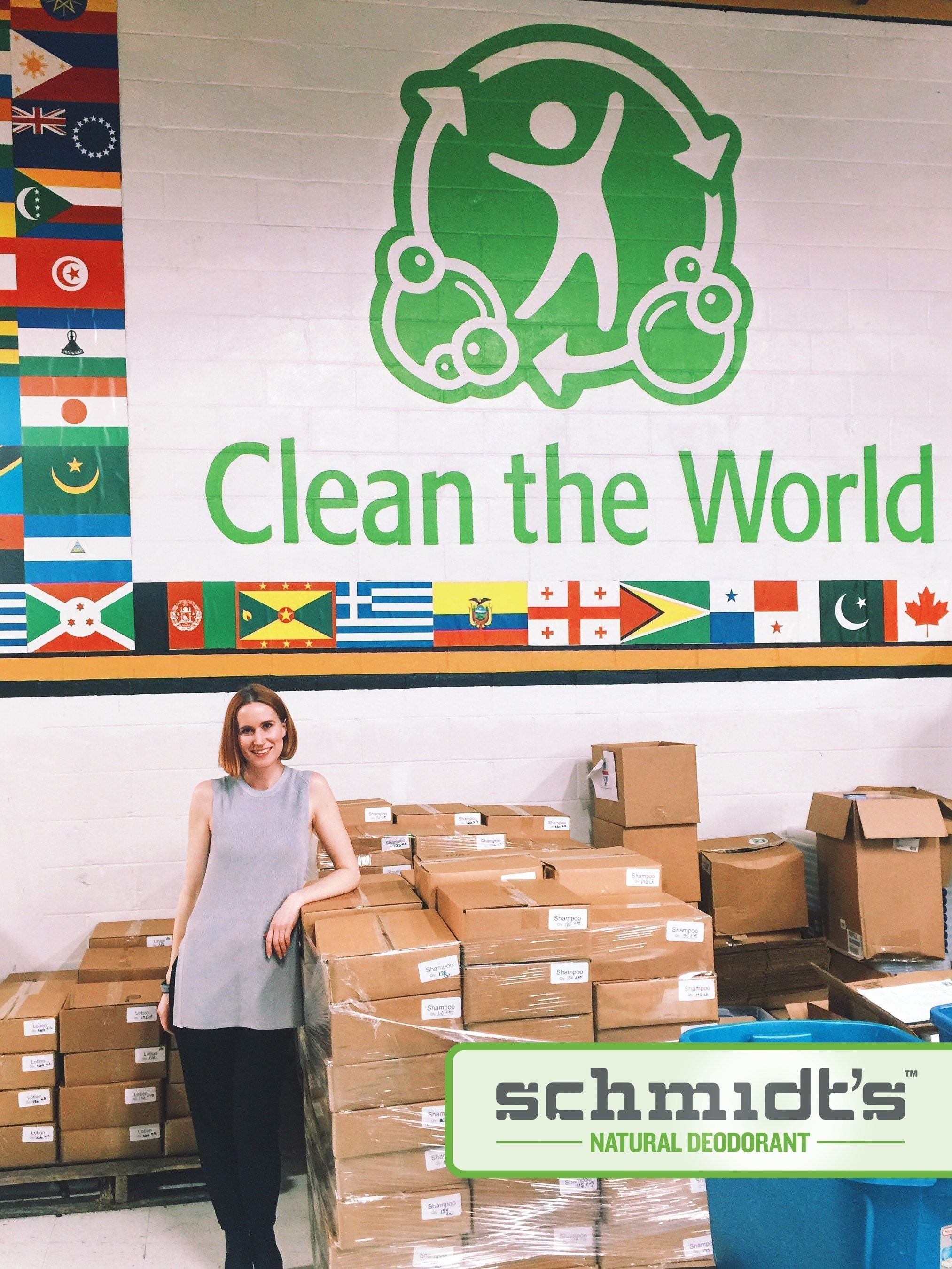 Schmidt's Natural Deodorant Celebrates Earth Day Through Partnership With Nonprofit Clean the World