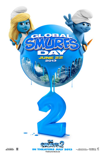 Global Smurfs(tm) Day Returns Saturday, June 22, 2013.  (PRNewsFoto/Sony Pictures Entertainment)