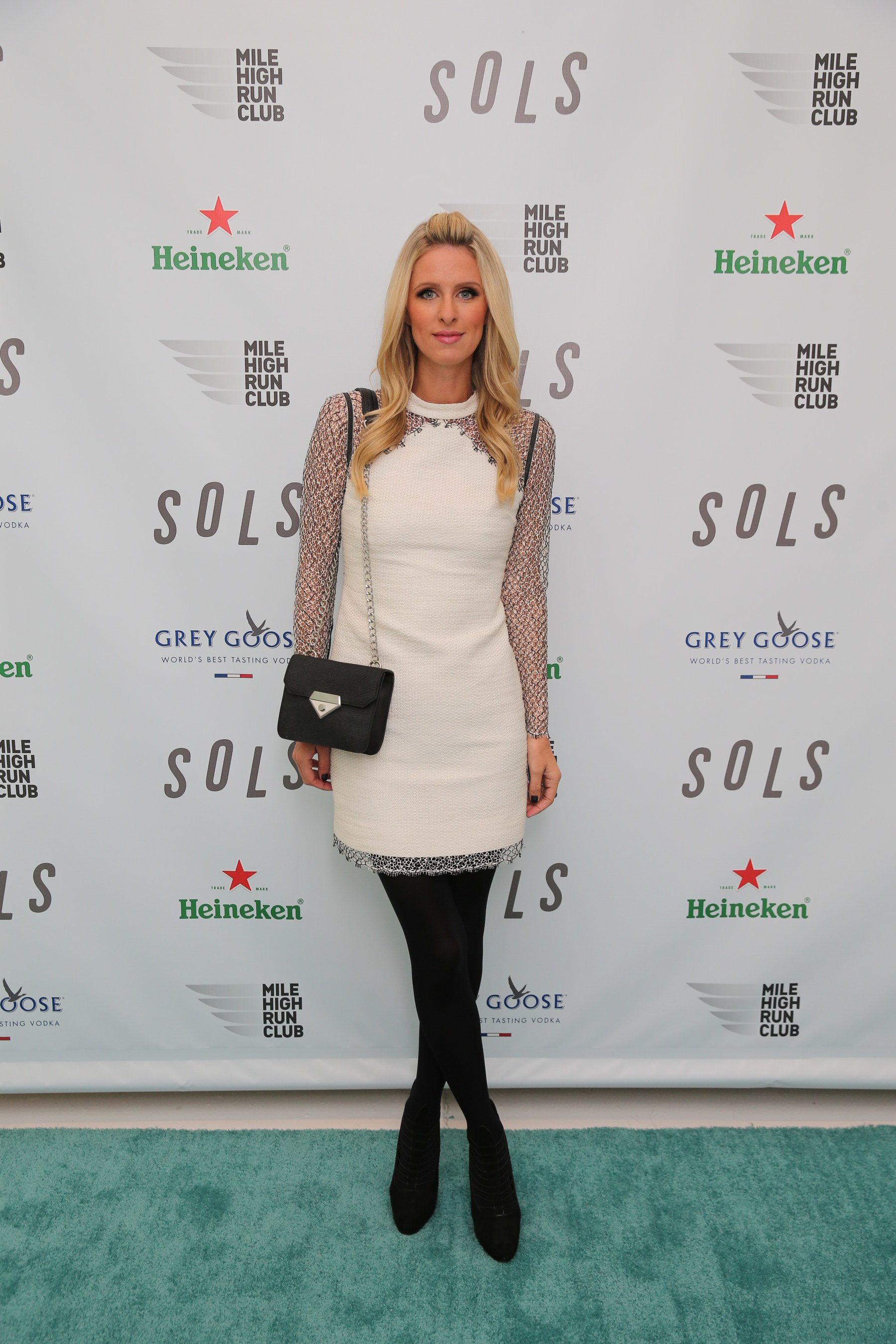 Nicky Hilton attends the SOLS launch party for the new SOLS Flex insole (Photo by Neilson Barnard/Getty Images for SOLS)