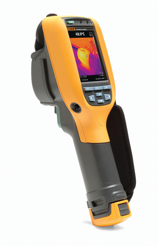 The Fluke(R) Ti90 and Ti95 deliver best-in-class image quality with up to 84 percent better spatial resolution (of handheld industrial infrared cameras priced $1,000 - $2,000) allowing technicians to conduct infrared inspections from a safer distance without compromising accuracy. (PRNewsFoto/Fluke Corporation)
