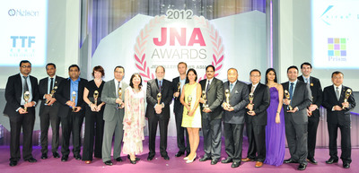 The JNA Awards is an industry-wide platform for the championing of best practices.  (PRNewsFoto/UBM Asia Ltd)