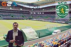 G2A's Sales Co-ordinator, Andre Santos, inside the Jose Avalade Stadium (PRNewsFoto/G2A.com)