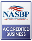 National Association of Small Business Professionals Accredited Business Seal.  (PRNewsFoto/The National Association of Small Business Professionals)