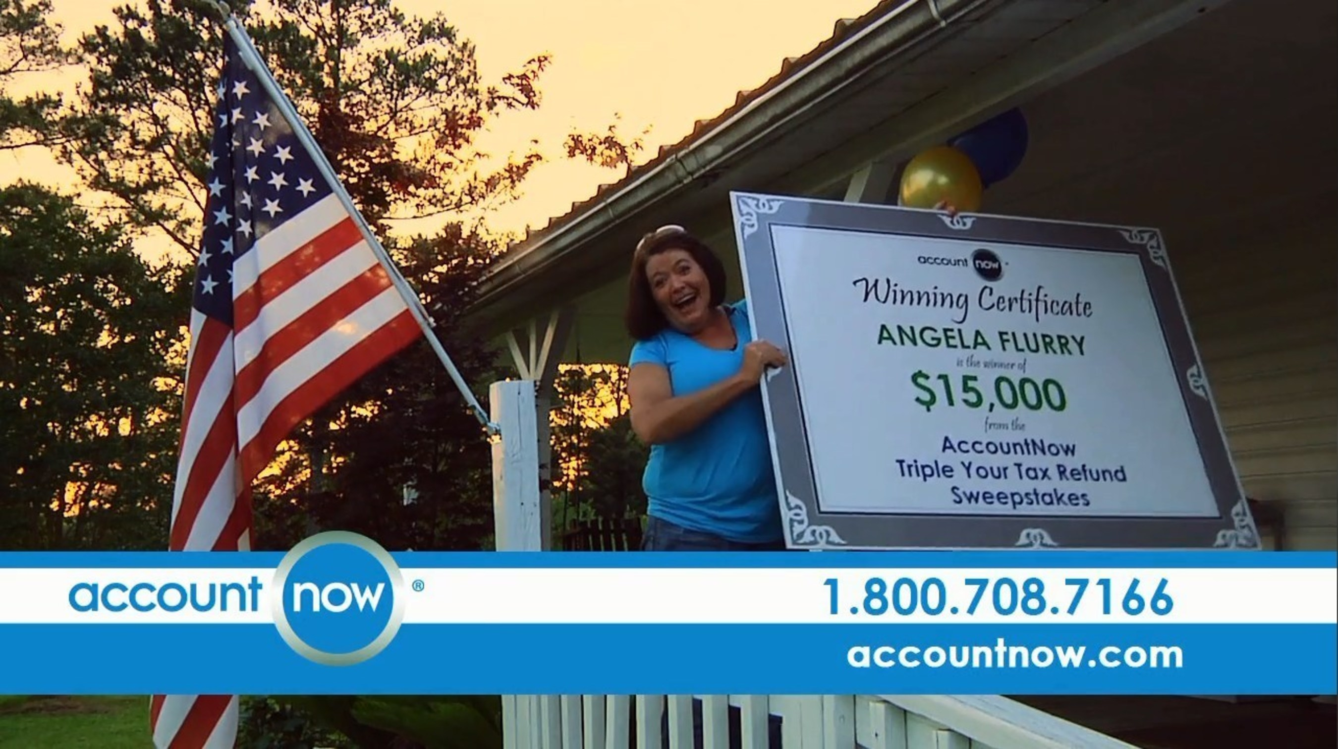 alabama woman is latest winner of accountnow triple your tax refund sweepstakes - Accountnow Gold Visa Prepaid Card