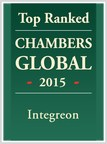 INTEGREON RECOGNIZED AS TOP RANKED LPO IN CHAMBERS GLOBAL 2015