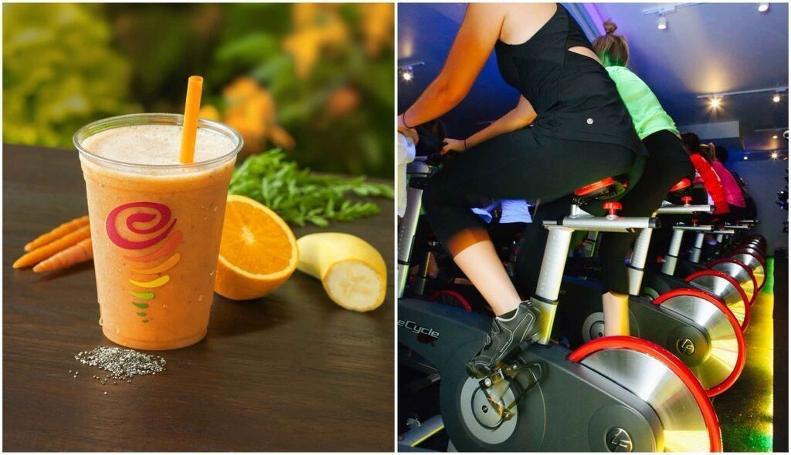 Jamba Juice's Orange Supreme(TM) & Cycling -- Orange Supreme(TM) is a delicious recovery beverage for a calorie torching endurance exercise like cycling, as it contains more than the daily requirement for Vitamin A and C - two nutrients cyclists need more of to get a bigger recovery benefit. Vitamin C also helps the body make collagen, which is a protein needed for healthy cartilage, tendons, and ligaments.