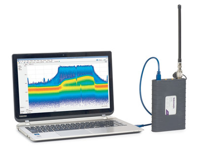 The Tektronix RSA306 Puts Powerful RF Signal Analysis in Your Hand.