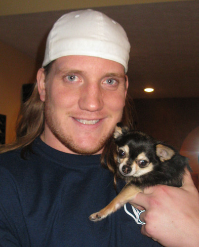 Enough is enough! That's the message from professional football champ and proud small dog owner A.J. Hawk, ...