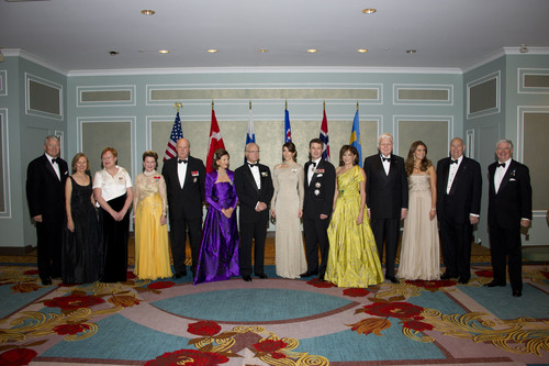 Royalty and Heads of State Attend Historic U.S. Gathering to Celebrate Centennial of The