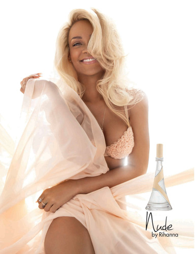 Chart-Topping Songstress, Rihanna, Takes It All Off With New Scent