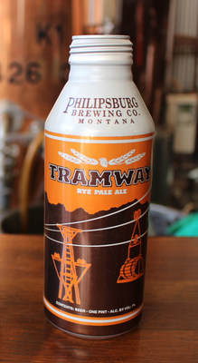 Philipsburg Brewing is introducing one of its most popular beers - Tramway Rye Pale Ale - in Alumi-Tek® reclosable bottles from Ball Corporation.