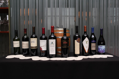 Range of wines at Vinos de Terroir.  (PRNewsFoto/Wines of Chile)