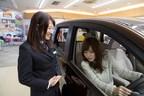 Female sales advisor at Nissan dealership in Tokyo, Japan (PRNewsFoto/Renault-Nissan Alliance)