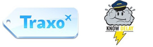 "Traxo and Knowdelay Introduce Personalized ""Early-Alert System"" for Travel-Related Weather Delays.  (PRNewsFoto/Traxo)"