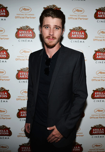 Garrett Hedlund visits the Stella Artois Cannes Cinema Club at the 65th Cannes Film Festival.(PRNewsFoto/Stella Artois)