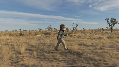"""Two-year-old Sonny adventuring in the wilds of Joshua Tree National Park in """"Little Expeditions,"""" celebrating our innate desire to explore"""