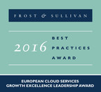 Interoute Receives the 2016 European Cloud Services Growth Excellence Leadership Award