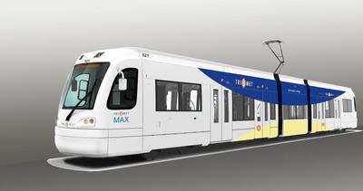 Siemens Receives $73 M Light Rail Vehicle Order from Portland's TriMet.  (PRNewsFoto/Siemens)