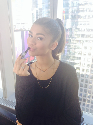 Zendaya, hit singer and actress, named spokesperson for Carmex Moisture Plus(R) -- a fashionable new twist on ...