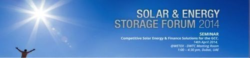 Solar & Energy Storage Forum 2014