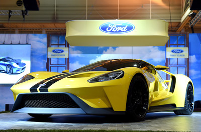 All-new Ford GT on display at 2016 ESSENCE Festival in New Orleans