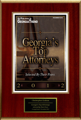 "Christopher Graham Selected For ""Georgia's Top Attorneys"".  (PRNewsFoto/American Registry)"