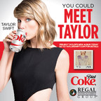 Regal Cinemas Partners with Diet Coke on Taylor Swift Promotion. Source: Regal Entertainment Group