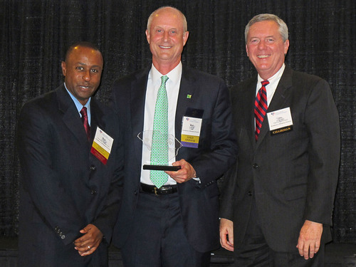 Pictured, from left: Cliff Bourke, South Carolina Chamber of Commerce Diversity Council Chairman; Rob Hoak, TD ...