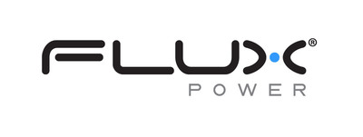 Flux Logo.  (PRNewsFoto/Flux Power Holdings, Inc.)