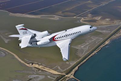 Dassault to Highlight Success of Falcon 7X, 8X at Jet Expo 2016 (PRNewsFoto/Dassault Aviation)