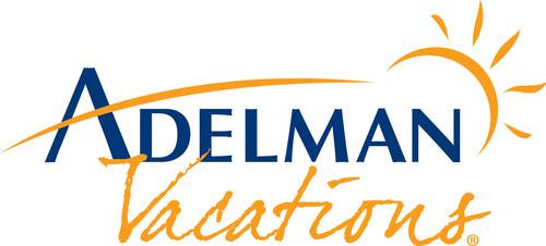 Adelman Vacations logo. (PRNewsFoto/Adelman Travel Group) (PRNewsFoto/ADELMAN TRAVEL GROUP)