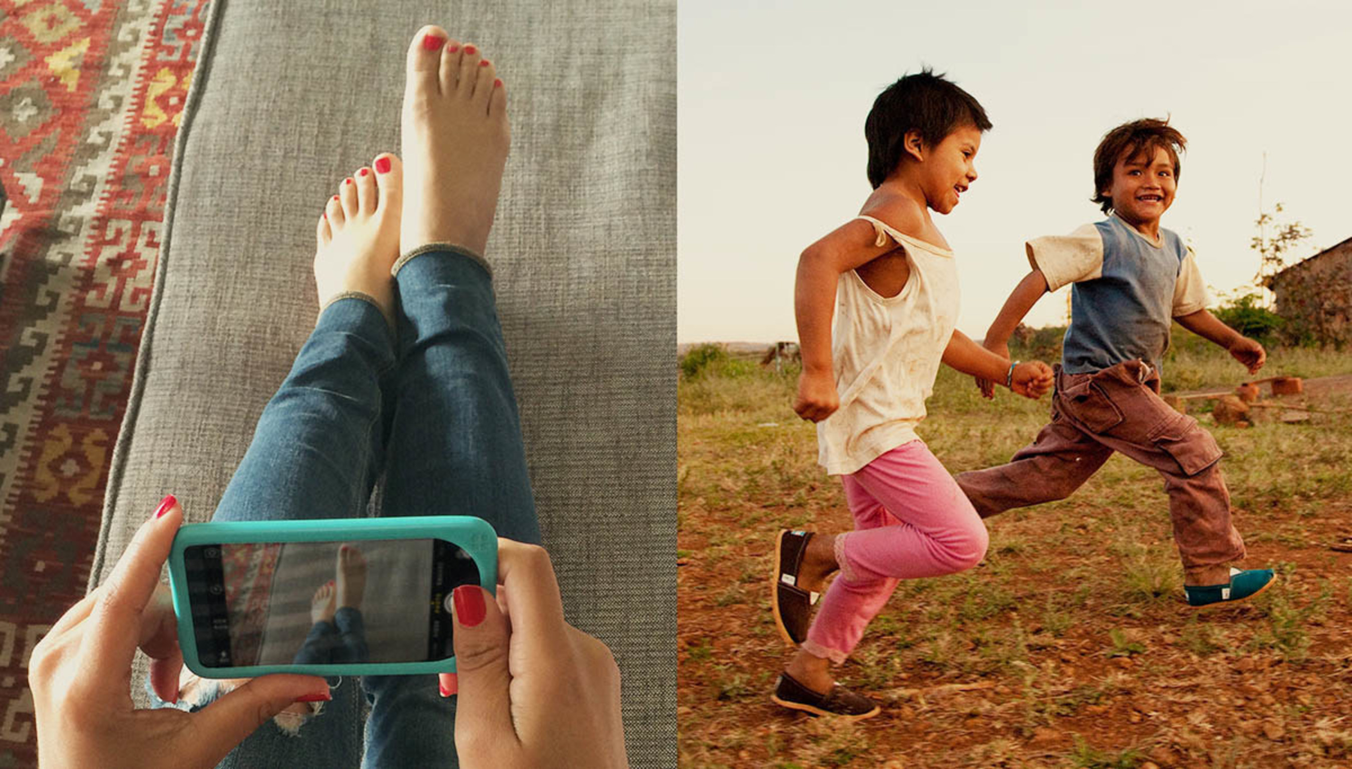 TOMS Launches One Day Without Shoes Campaign