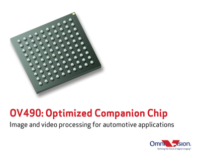 OV490: image and video processing for automotive applications