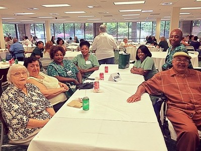 The PruittHealth Norcross Corporate Office enjoyed celebrating Founder's Day with patients and CNAs from local PruittHealth centers.