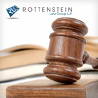 The Rottenstein Law Group acknowledges a Bloomberg report about German drug manufacturer Bayer's recent stock losses, which the story attributes to a Mirena lawsuit.  (PRNewsFoto/The Rottenstein Law Group)