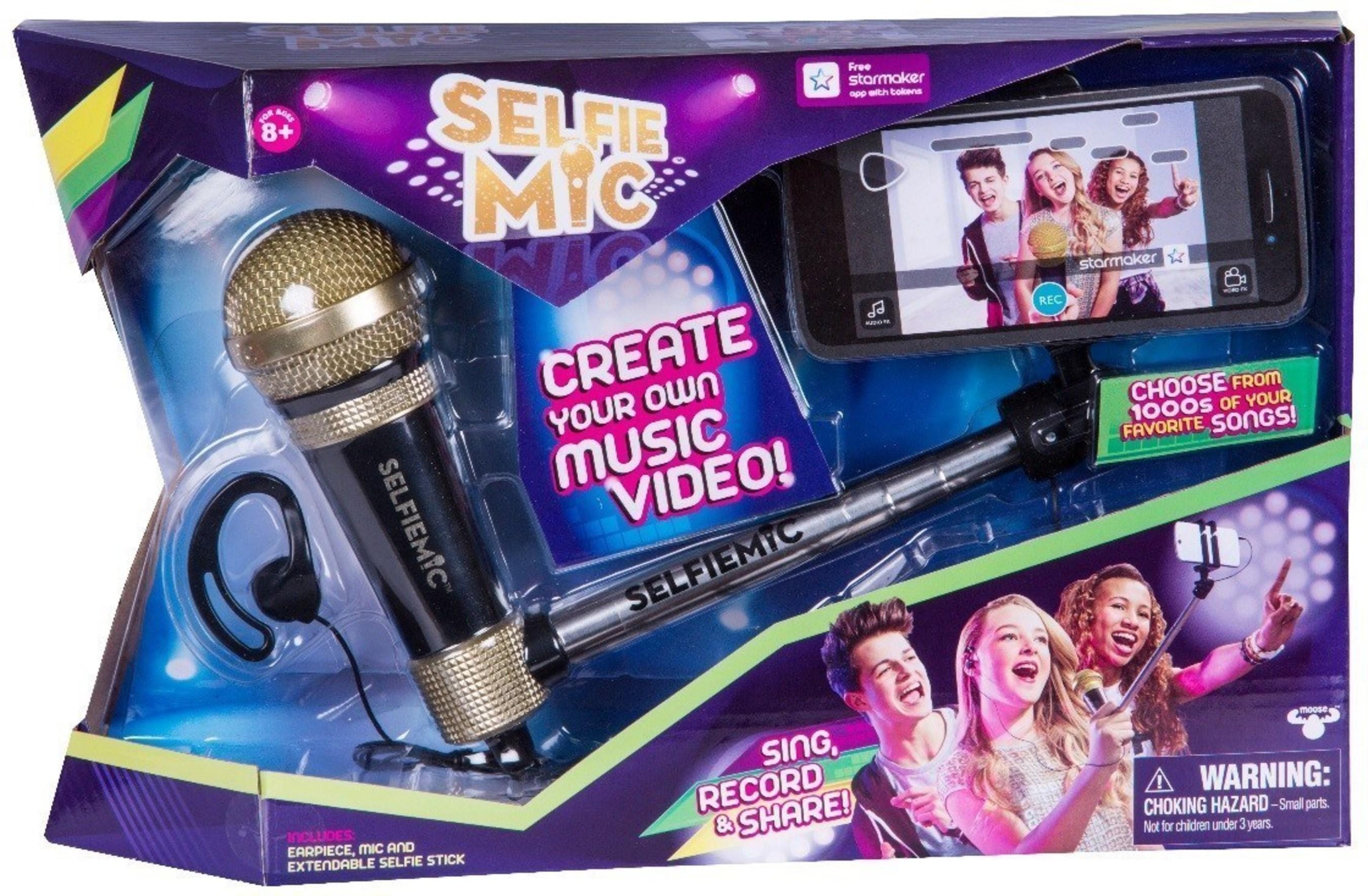 SelfieMic(TM) from Moose Toys(TM)