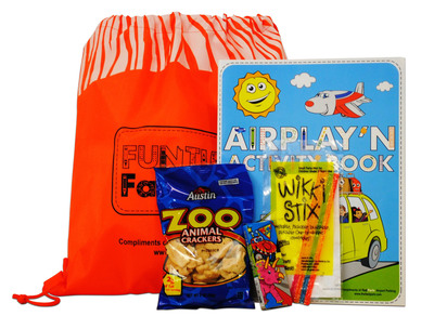 Families will receive these Funtime FastPaks when parking with Fast Park.  (PRNewsFoto/Fast Park)