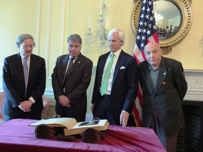 Monuments Men Foundation & Sony Pictures Home Entertainment Commemorate V-E Day at U.S. National Archives