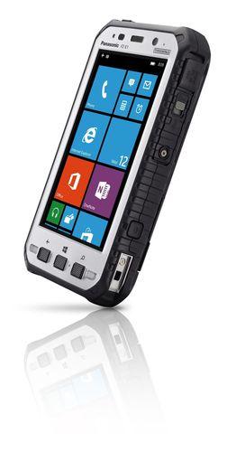 Tablette Panasonic Toughpad 5 pouces ultra-durcie avec fonctionnalitÃ(C)s voix/donnÃ(C)es (PRNewsFoto/Panasonic France)