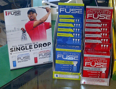 """Powered By Fuse(R)"" is now Available at Golf Galaxy!  (PRNewsFoto/Fuse Science, Inc.)"
