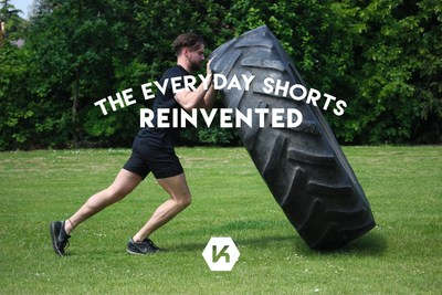 Redesigning activewear: the perfect pair of shorts for every city athlete, Invented for the Urban Athlete