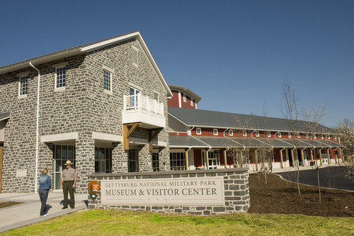 The Gettysburg National Military Park Museum and Visitor Center is the first museum in Pennyslvania and only ...