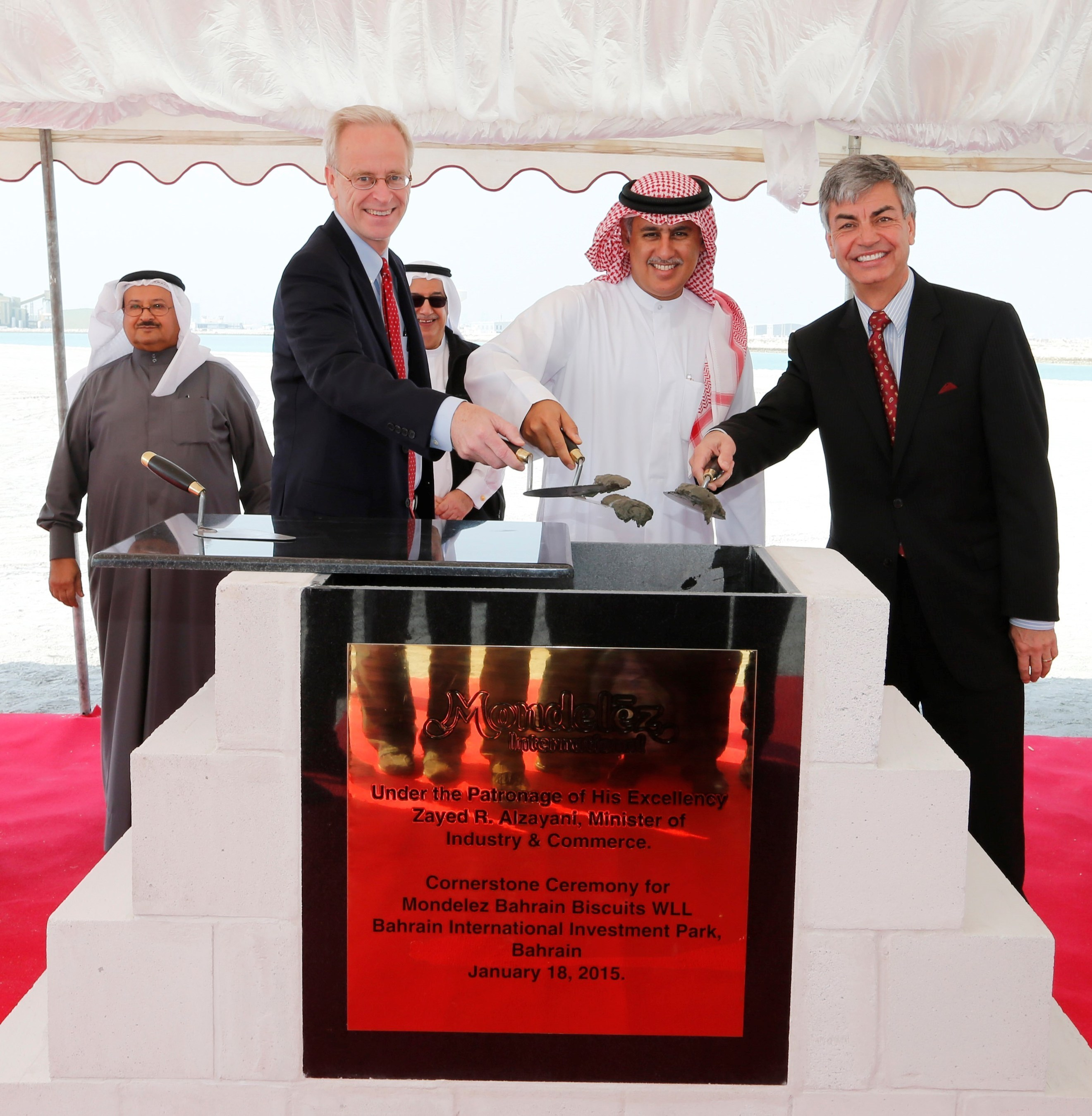 Mondelez International Lays Cornerstone for Construction of $90 Million Biscuit Plant in Bahrain - US ...