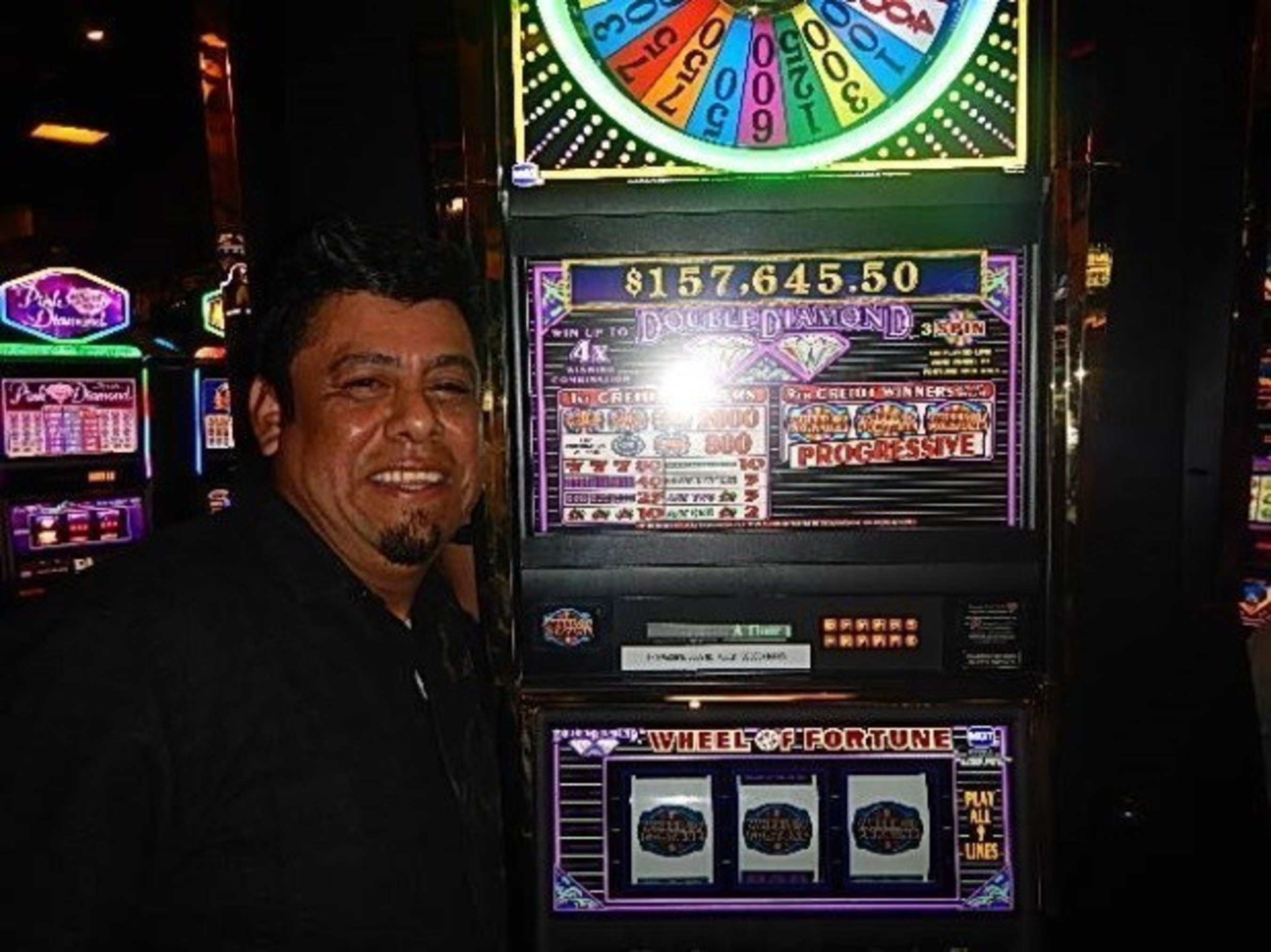 Yovany Batres joins Soboba's long list of winners with a $157,645 jackpot