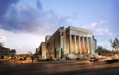 Robinson Center 2016 Redesign - Southern Elevation Courtesy of Little Rock Convention & Visitors Bureau